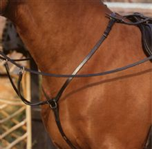 Sabre Brass Adjustable Breastplate & Martingale Attachment
